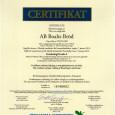 Vi kan nu stolt meddela att vi nått vårt mål och blivit BRC-certifierade med bästa resultat!